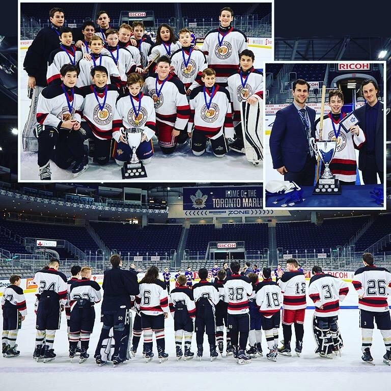 Corpus Christi Ice Hockey Team Wins the Toronto Marlies Middle School Meltdown Tournament