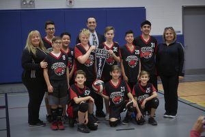 Corpus Christi Boys' Volleyball Team Places First In Their Local Tournament!